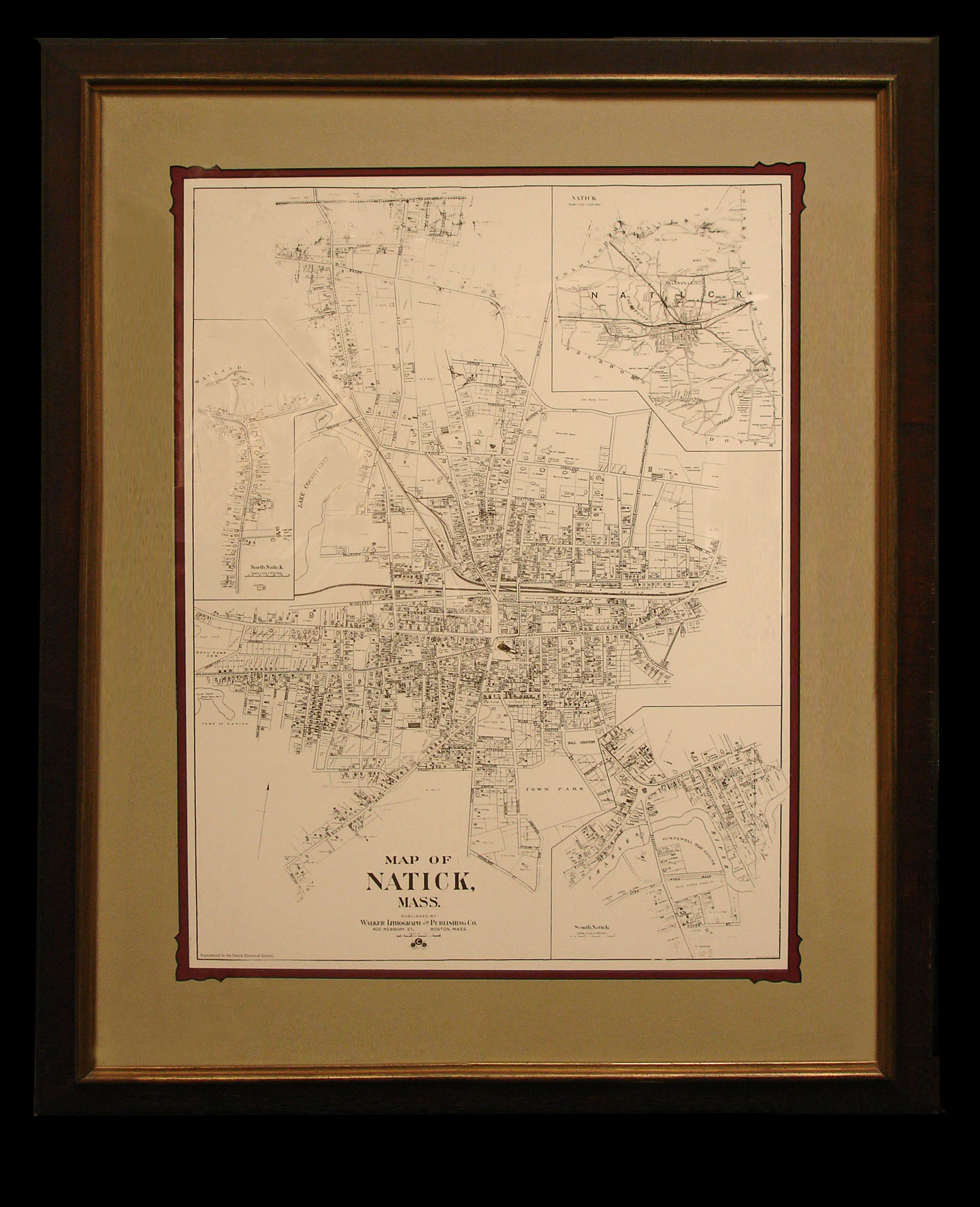 Natick Maps - yes we have them !