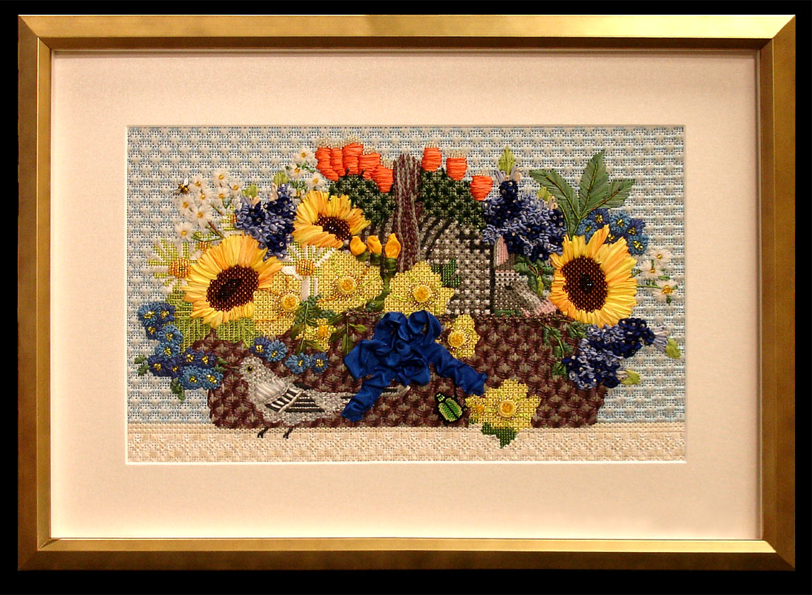 Needlepoint Floral