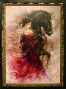 Woman & Horse