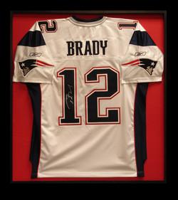 Tom Brady: Nielsen metal shadowbox
