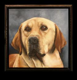 Oil of Housier in a Fotiou frame