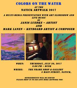 ART WALK Colors on the Water Artshow