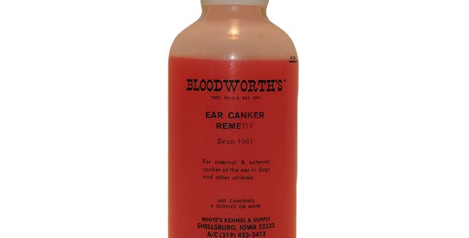 Bloodsworth ear canker remedy