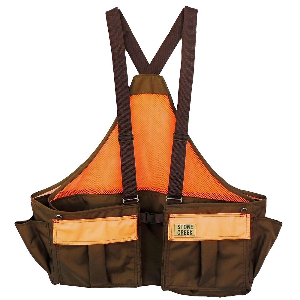 upland bird hunting strap vest