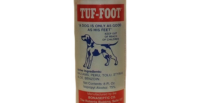 Tuff Foot for conditioning dogs feet for endurance