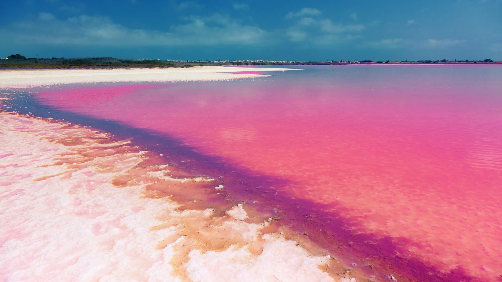 Соленые озера Торревьеха