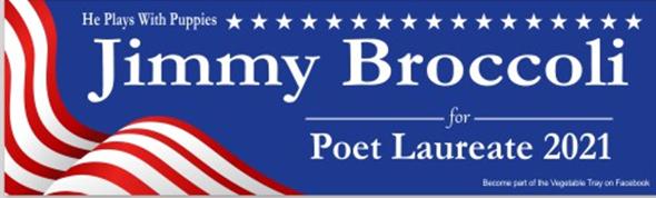 Jimmy Broccoli Bumper Sticker.png