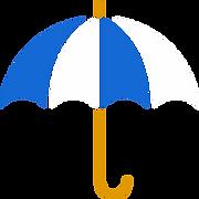 Encontrarás fácil a nuestro guía gracias al paraguas blanquiazul