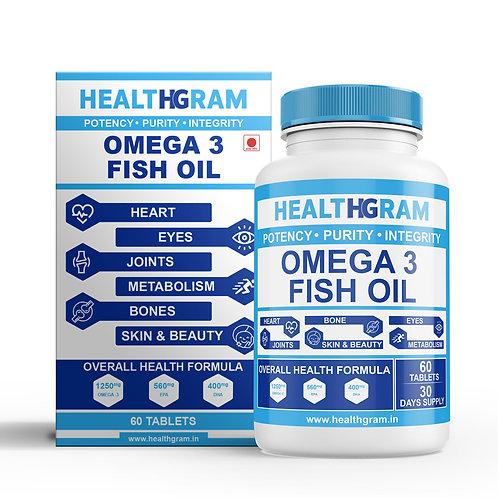 Healthgram Omega 3 Fish Oil - 60tab