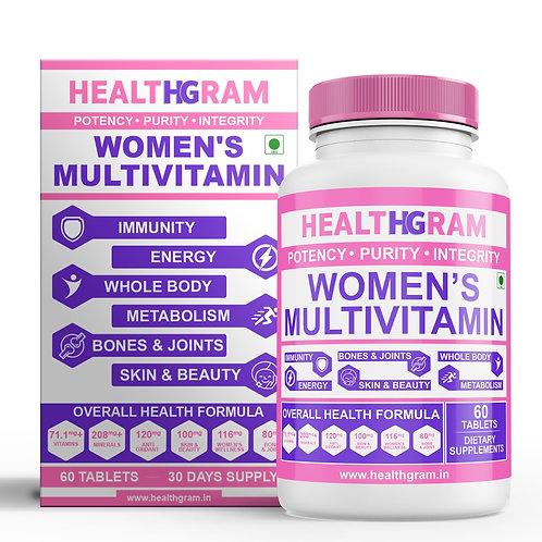 Healthgram Women's Multivitamin - 60tab