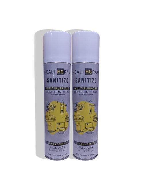 Healthgram Sanitizo Multipurpose Disinfectant Spray - 350ml