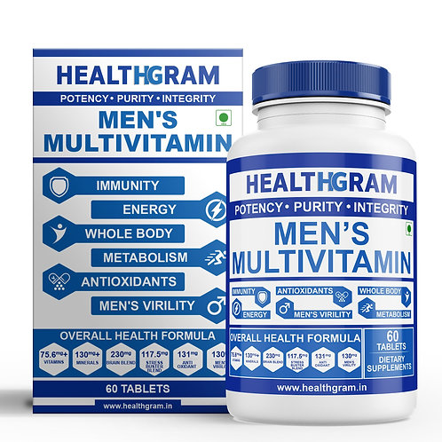 Healthgram Men's Multivitamin - 60tab