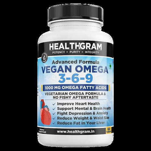 Healthgram Vegan Omega 3-6-9 - 60tab
