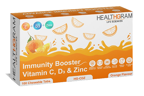 Healthgram Vitamin C Plus Tablet - 100tab