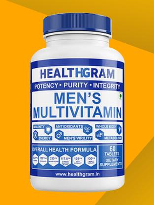 Healthgram Men's Multivitamin - 60tab