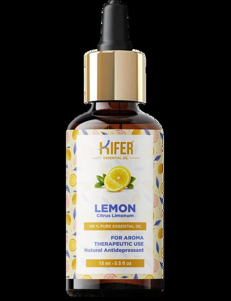 Kifer Lemon Essential Oil - 15ml
