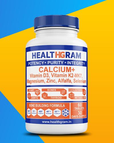 Healthgram Calcium Plus - 60tab