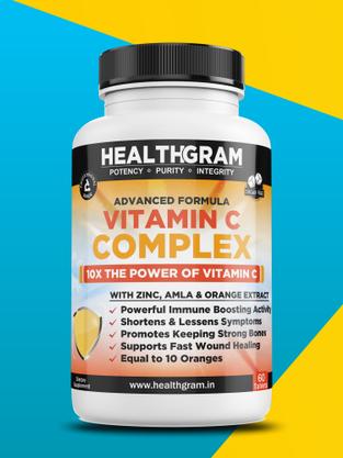 Healthgram Vitamin C Complex - 60tab