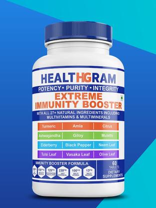 Healthgram Extreme Immunity Booster - 60tab