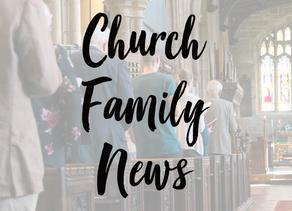 Church Family News 6th September