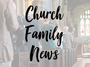 Church Family News - 21st February