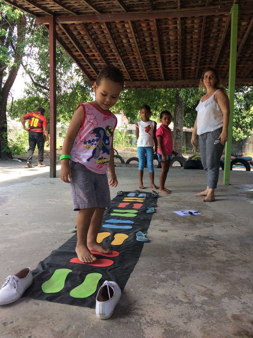 Atividade para os menores