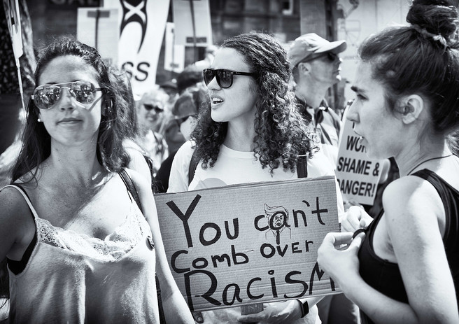 You Can't Comb Over Racism