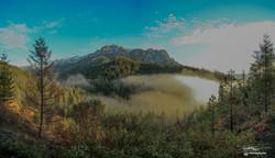 Sunrise at Castle Crags