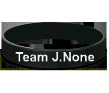 Team J.None Silicone Wristbands
