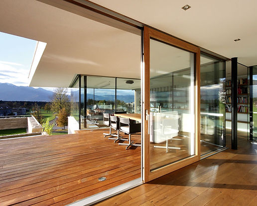 Lift and Slide sliding door