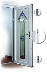 Roto multipoint locking door