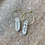 Thumbnail: Mini Quartz crystal point hoops