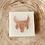 Thumbnail: Almond coconut cow skull soap bar