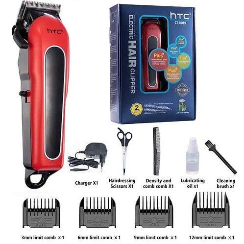 Máquina de cortar cabelo profissional sem fio HTC CT-8089