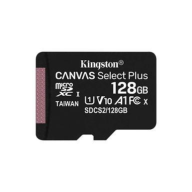 Cartão de Memória Kingston Canvas Select Plus microSD