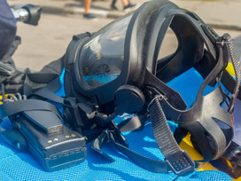 Respiratory protection for confined spaces