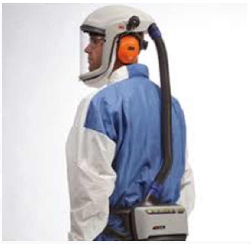 air fed respirator