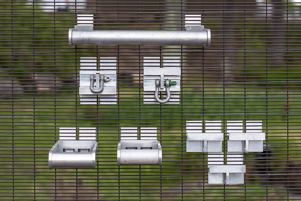 QAB security fencing accessories