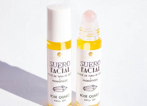 Rose Quartz, Suero Facial Roll-On