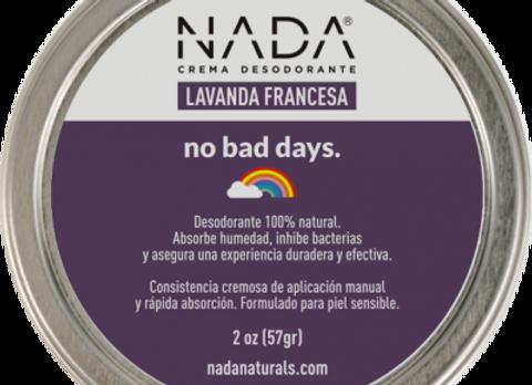 Crema Desodorante Lavanda Francesa
