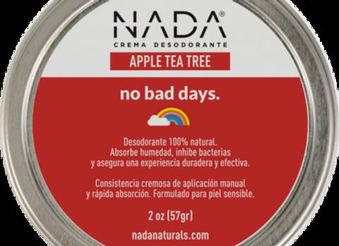 Crema Desodorante Apple Tea Tree