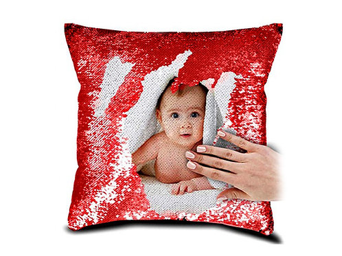 Personalized Magic RED Pillow