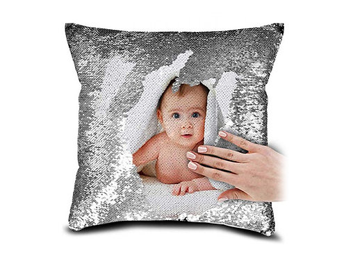Personalized Magic SILVER Pillow