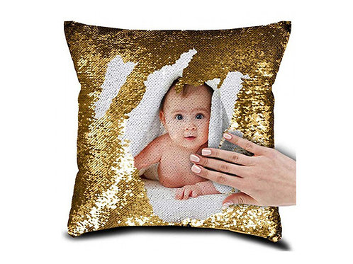 Personalized Magic GOLD Pillow