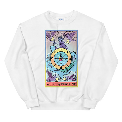 The Wheel Of Fortune, Tarot Sweater, Witchy Clothes, Witchy Sweater