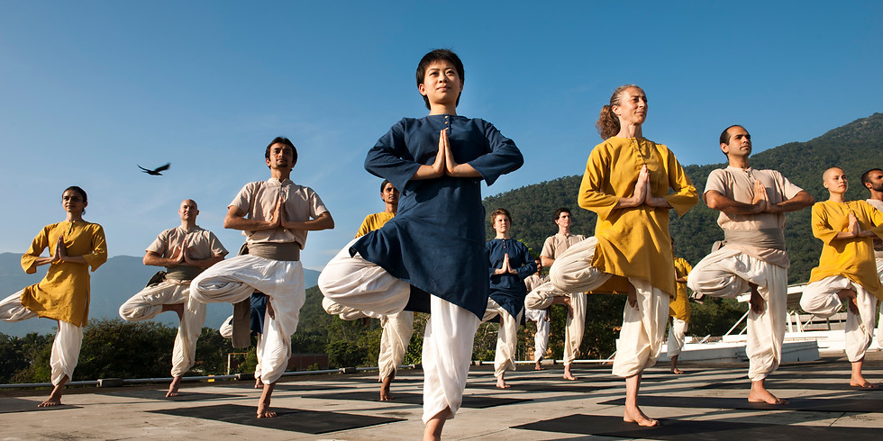 Yogasanas: Standing Postures Oct 27, 2018
