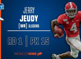 Judging Jerry Jeudy, the Bronco