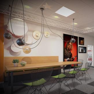 Office interior design . Client Zonga