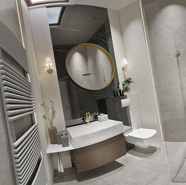 Design interior de bai  . Imagini 3d 360