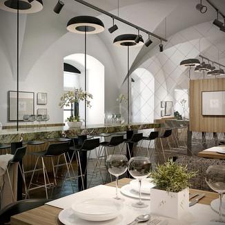 Design Interior _ Restaurant Teatro